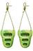 Metolius Rock Rings 3D green